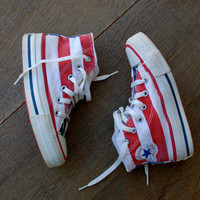 Vintage 80's Youth Size USA Converse - Youth Sz 11