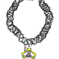 SAILOR MOON TATTOO CHOKER