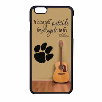 Ed Sheeran Guitar And Song Quotes iPhone 6 Case