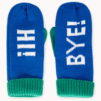 Quirky Colorblocked Mittens