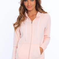 Miami Style® - Women's Fleece Zip Up Hoodie
