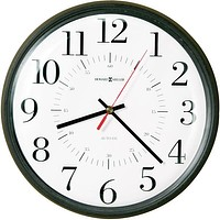 "14""H Alton Wall Clock Matte Black"