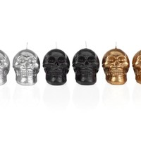 Skull Head Candles - Set of 6   Candles-home-fragrance   Accessories   Decor   Z Gallerie