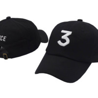 CHANCE 3 Embroidered Baseball embroidered cap Hat