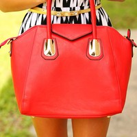 Highs & Lows Purse: Red