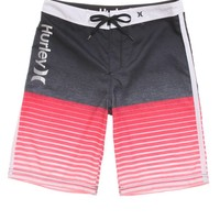 Hurley Froth Stripe Boardshorts - Mens Board Shorts - Red - 32
