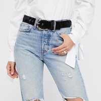 Free People Cougar Leather Belt