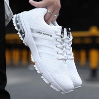 Running Shoes for Men 2018 Summer New Men Sneakers Lace Up Low Top Jogging Shoes Man Athletic Footwear Breathable size 35-48