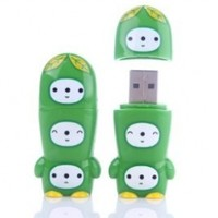 8GB PeaPod MIMOBOT USB Flash Drive
