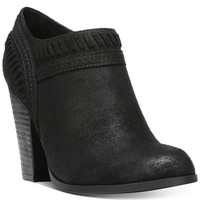 Carlos by Carlos Santana Rollins Block-Heel Booties - Boots - Shoes - Macy's
