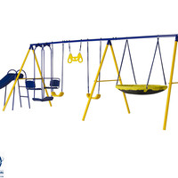 "Jump Power 8- Station  Swing Set ""ASTM Safety Approved"""