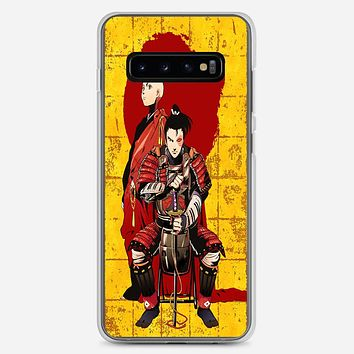 Aang And Zuko Avatar The Last Airbender Samsung Galaxy S10 Plus Case