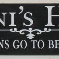 ON SALE TODAY Grandma's Nana's Granny's Mimi's or Customizable Where Cousins Go To Become Friends Wooden Sign Grandmother Grandma Gift