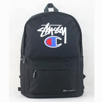 Stussy Champion Fashion Sport Laptop Bag Shoulder School Bag Backpack