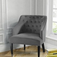Hollingberry Armchair Smoke