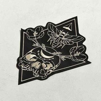 Shrimp Sauce Conversion Leather Back Patch
