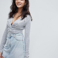 Free People All Types of Twisted top at asos.com