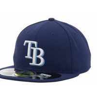 Tampa Bay Rays MLB Authentic Collection 59FIFTY Cap