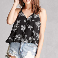 Lush Floral Embriodered Top