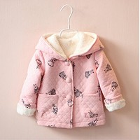 NYSRFZ baby Girl's Fashion jackets Girls Outerwear & Coats Trench Girls Hoodies Jackets, Children's Coat, Spring Baby coats