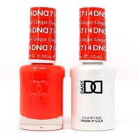 DND - Gel & Lacquer - Ginger - #714