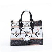 new lv louis vuitton womens leather shoulder bag lv tote lv handbag lv shopping bag lv messenger bags 317