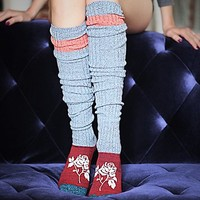 Rosie-day Over The Knee Sock