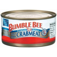 Bumble Bee: Fancy White Crabmeat, 4.25 Oz - Walmart.com