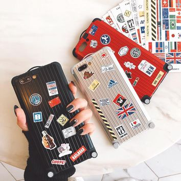Luggage Style Phone Cases