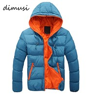 Men Winter Jacket / Warm Coat With Stand Collar