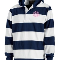 Monogrammed Classic Hooded Rugby Shirt | Clothing & Outerwear | Marley Lilly