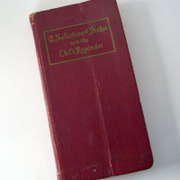 """Antique Vintage Cook Book """"A Selection of Dishes and the Chef's Reminder"""" Charles Fellows 1944"""
