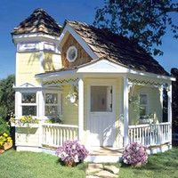 Tower Cottage Playhouse - buy at Firebox.com