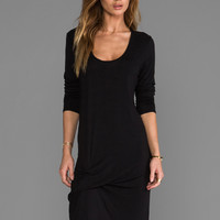 Riller & Fount Niles Pinched Front Dress in Black from REVOLVEclothing.com
