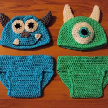 Mike Wazowski y Celia en amigurumi de monster inc | Celia monster ... | 354x354
