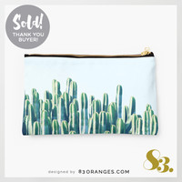 'Cactus V2' Studio Pouch ~ Sold! #redbubble #fashion #style #bags by 83oranges