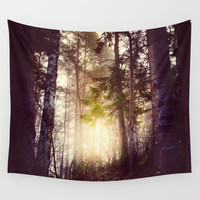Nebel Wall Tapestry by HappyMelvin