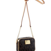 MICHAEL Michael Kors Jet Set Monogram Crossbody