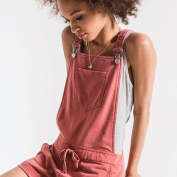 The Short Overalls in Dusty Cedar by Z Supply