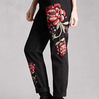 Pixie and Diamond Floral Jeans