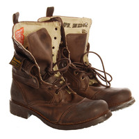 Superdry Mens Superdry Brown New Panner Boots