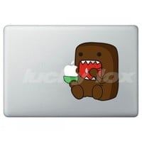 DOMO--Apple decal for Macbook/Pro/Air iPhone iPad sticke | luckyfox - Accessories on ArtFire