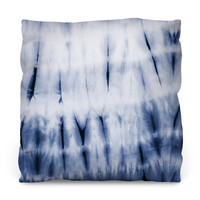 Zig Zag Dye Throw Pillow