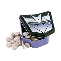 Transformers Decepticons Tin with Sour Candy