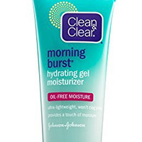 Clean & Clear Morning Burst Hydrating Gel Moisturizer, 3 Ounce