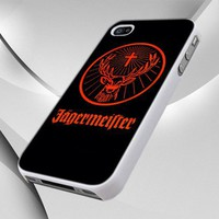 0098 Jagermeister Logo Beer design for iPhone 4 or 4S Case / Cover