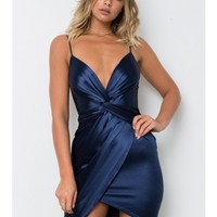 Royal Hour Dress - Navy - BACK IN STOCK