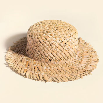 SAN DIEGO HAT CO. Seagrass Boater Hat