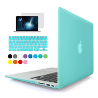 "Transparent Crystal hard Cover Case for Apple Macbook Air 11"" 13"" Pro 13"" 15"" Pro Retina 13"" 15"" Laptop Case"