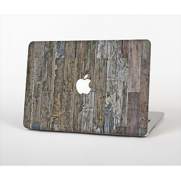 """The Straight Aged Wood Planks Skin Set for the Apple MacBook Air 11"""""""